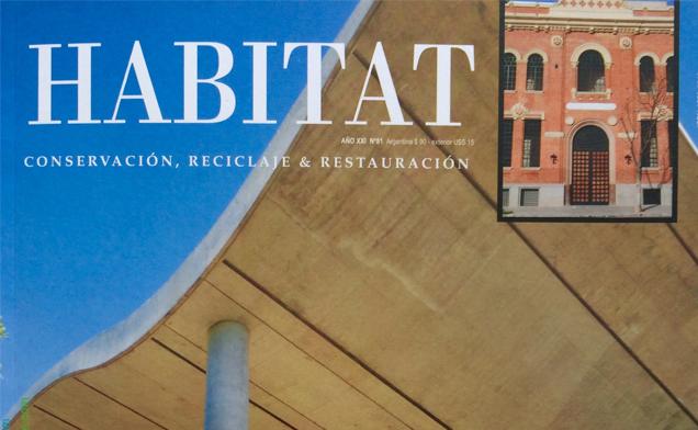 Publicación en la Revista Habitat