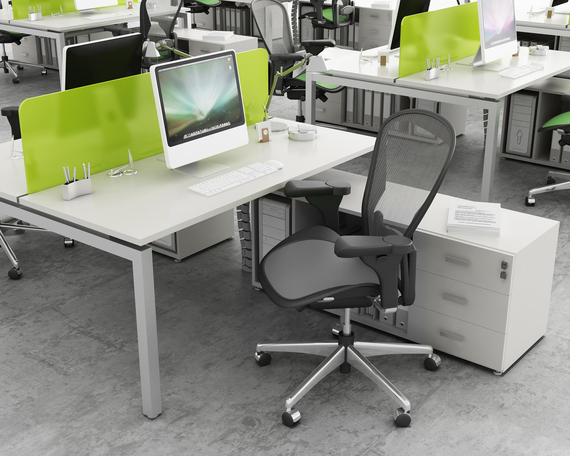 Puestos operativos cube caporaso for Muebles de trabajo