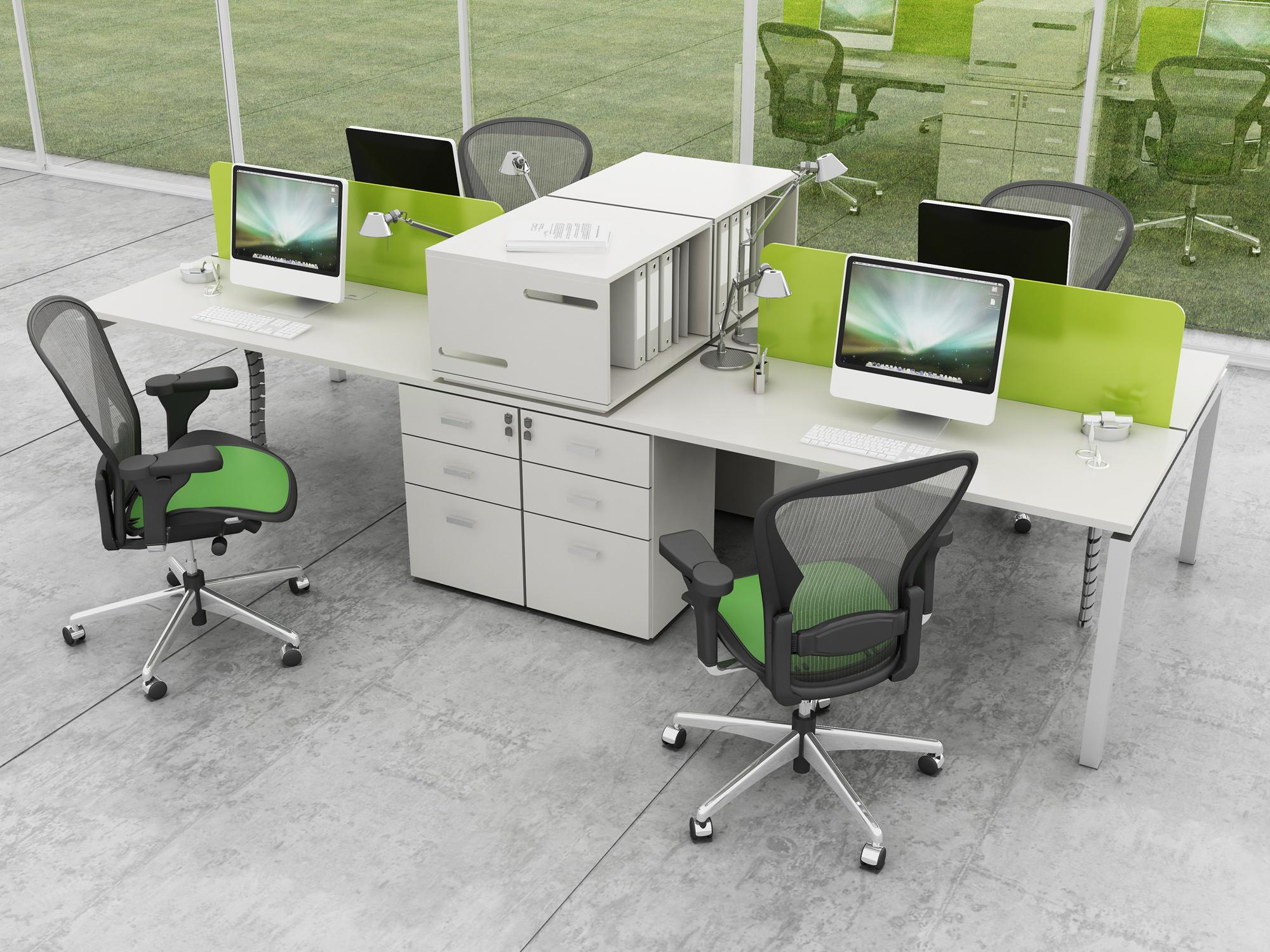 Puestos De Trabajo Operativos Gerenciales Y Muebles Para Pictures to pin on P...